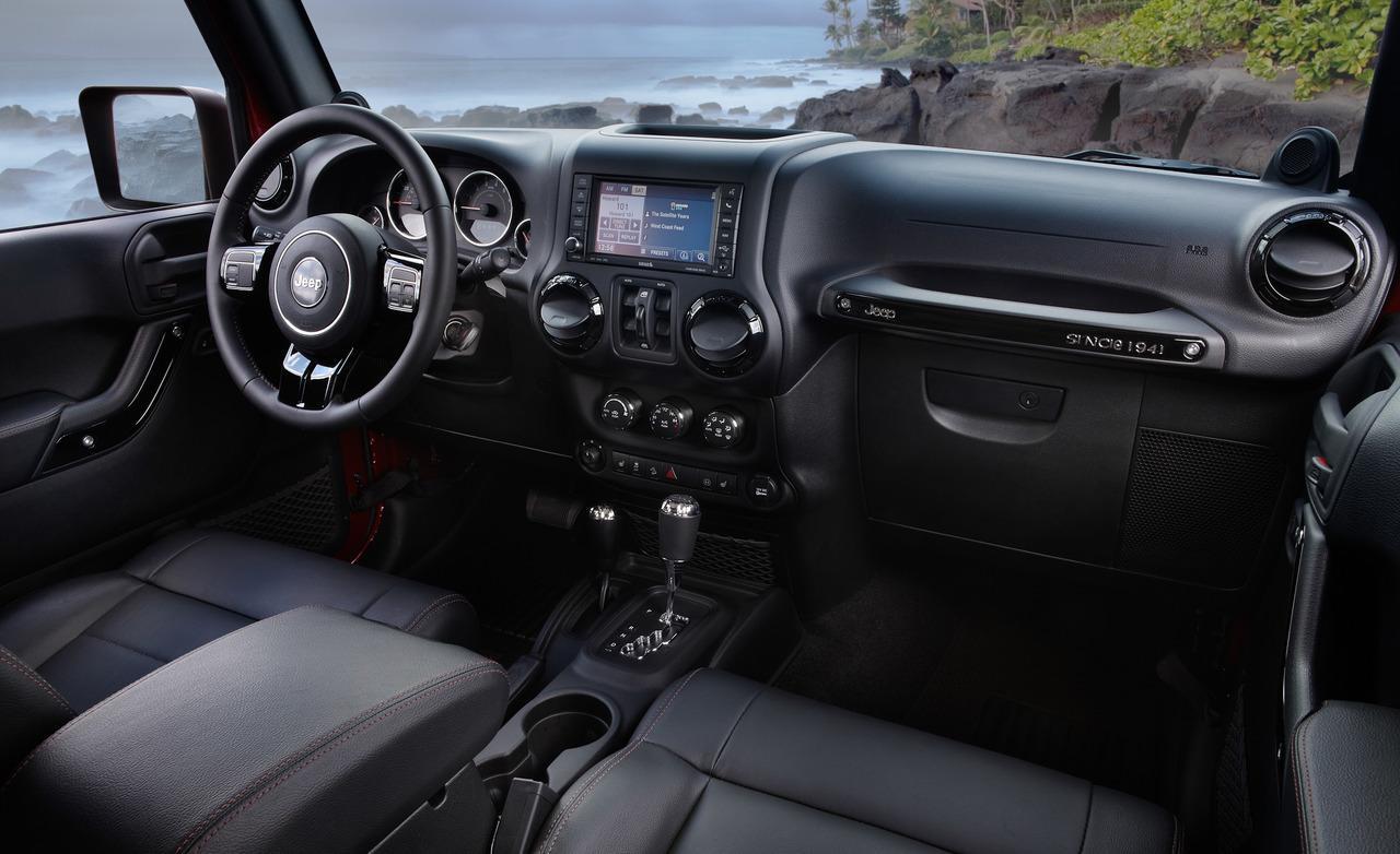 Jeep Wrangler Interior 7